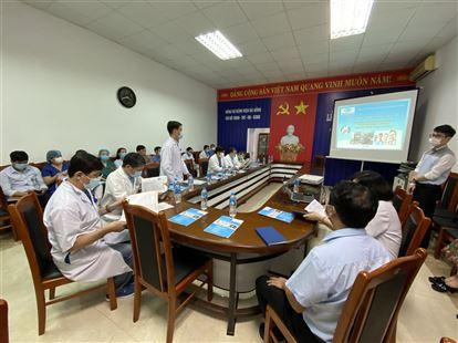 Hội thảo tại BVĐK Thành phố Đà Nẵng năm 2020