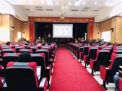 Hội thảo tại Viện Sốt Rét - Ký Sinh Trùng Trung Ương Tháng 11 năm 2020